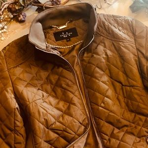 Lightweight quilted Carmel jacket